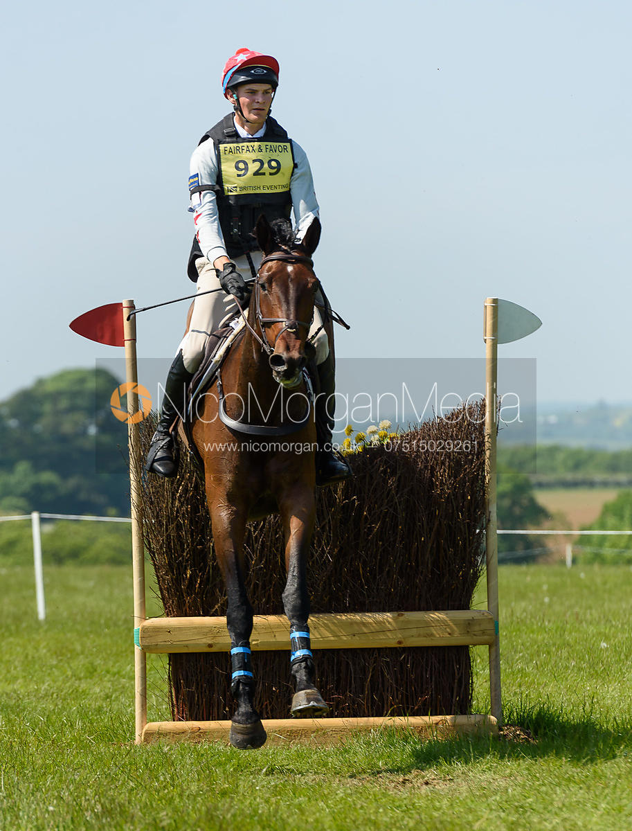Harry Horgan and HIGHMOOR PARKER, Fairfax & Favor Rockingham Horse Trials 2018