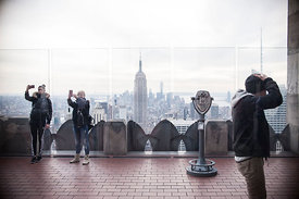 Top Of Rock, New-York, Novembre 2014