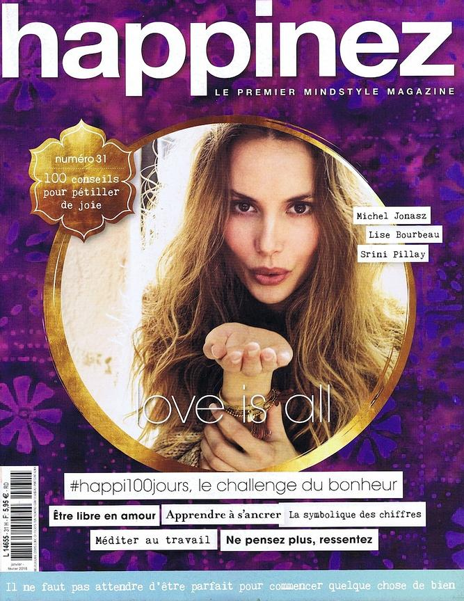 Happinez Magazine (France) - Janv 2018