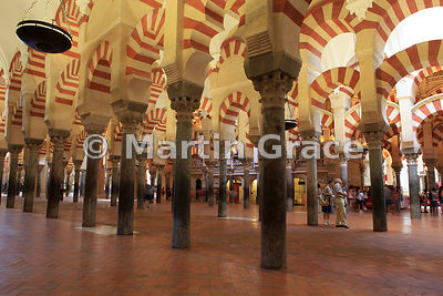 La Mezquita, Cordoba's Great Mosque dating from 785AD, now Cordoba's cathedral, Andalusia, Spain