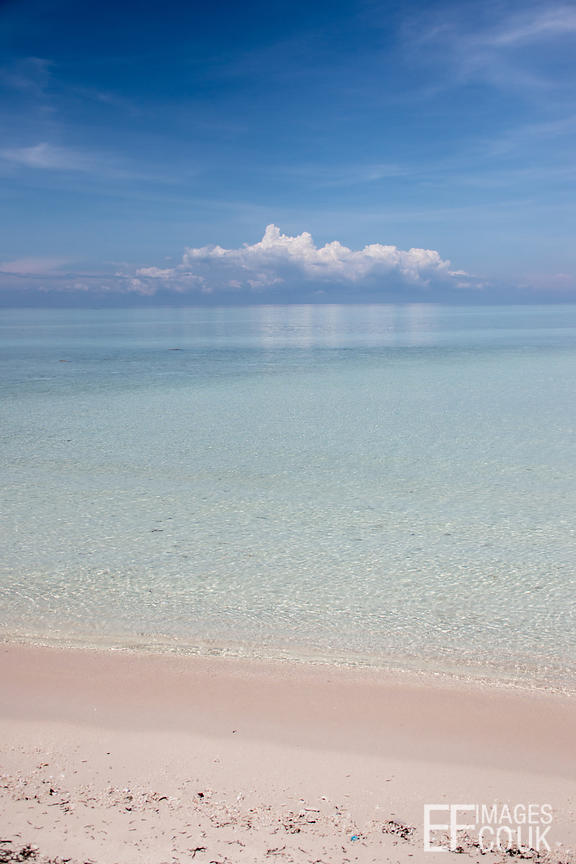 Tropical Paradise On Mataking Island, Sabah, Borneo