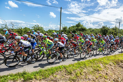 Mark Cavendish inThe Peloton - Tour de France 2016