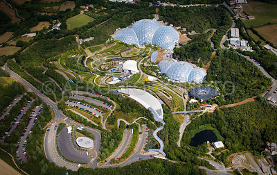 The Eden Project Cornwall, England UK