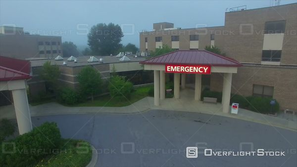 Emergency Ward Entrance to a Hospital and Health Care Facilty
