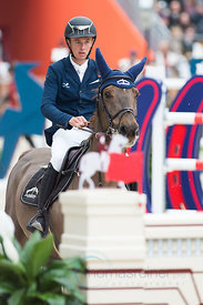 Paris, France, 17.3.2018, Sport, Reitsport, Saut Hermes - .PRIX GL Events Bild zeigt Bertram ALLEN(IRL) riding Christy Jnr......