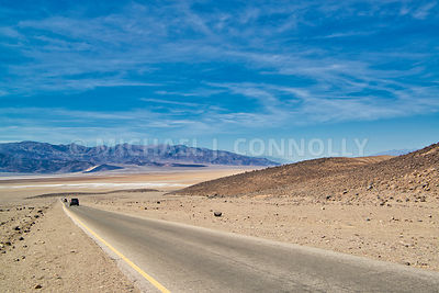 Road From Artists Palette- Death Valley