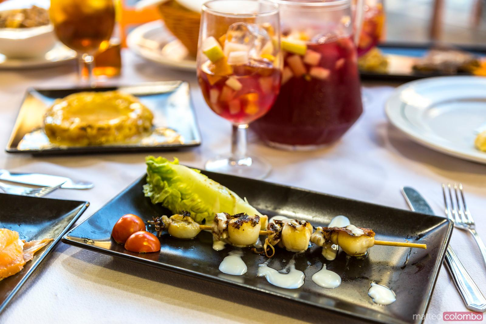 Sangria and tapas, Seville, Andalusia, Spain