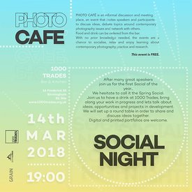 PhotoCafe Social Evening - March 14th
