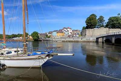 Cardigan Castle & River Teifi