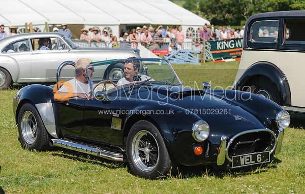 AC Cobra, The parade of classic and vintage cars.