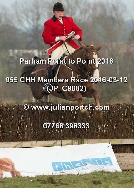 2016-03-12 CHH Parham Point to Point - Hunt Members Race