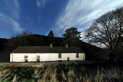 Soar y Mynydd chapel at night