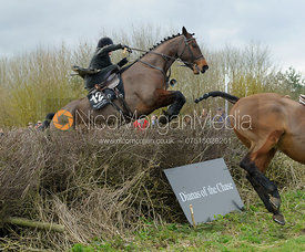 Laura Elliott - Dianas of the Chase - Side Saddle Race 2014.