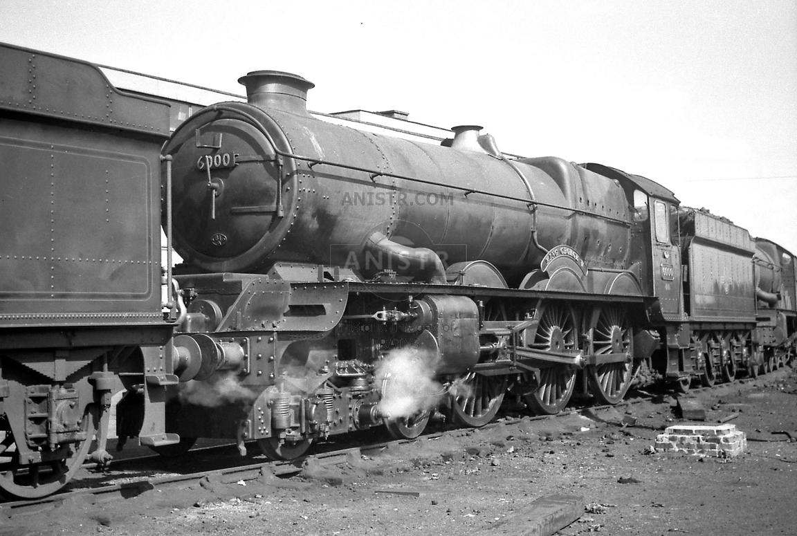 Steam loco King 6000