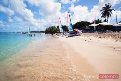 Mullins bay beach in the Barbados, Caribbean