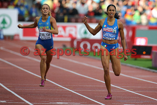 ZURICH - August 15 :  Day 4 European Athletics Championships. (Photo by Angelos Zymaras / azsportsimages)