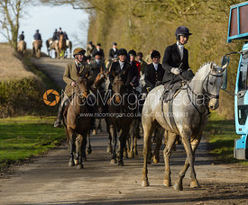 Amy Bryan-Dowell on Braunston Road - The Cottesmore at Priory Farm