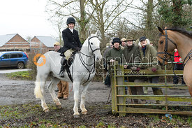 The Belvoir Hunt at Kimberley Farm