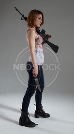 Mandy Final Girl Stock Photography