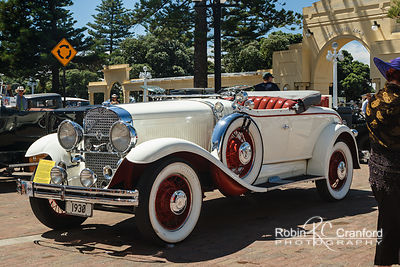 Art Deco Sunday 2014.  1930 Studebaker President Eight Roadster.