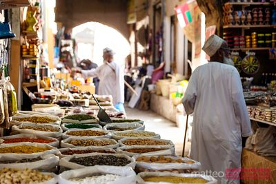 In the souk, Nizwa, Oman