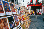 Paintings for Sale,  Montmartre, Paris, France