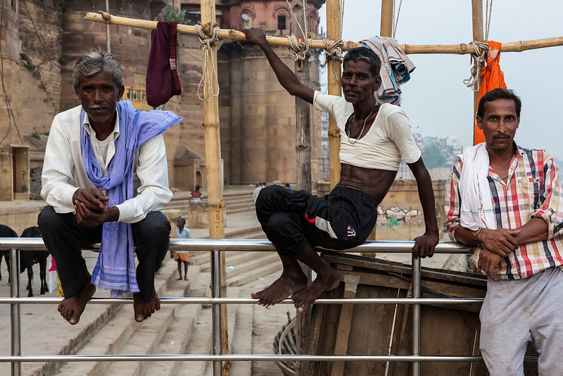 Ganges River Boatmen