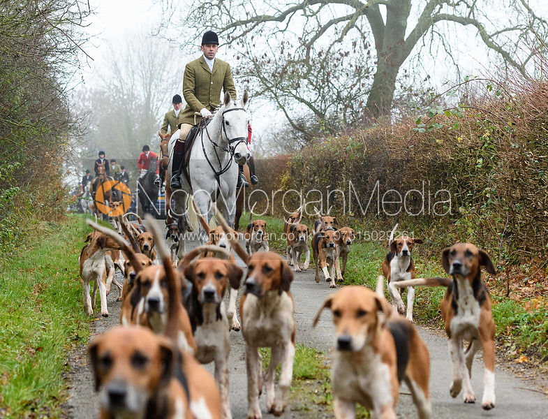 The Wynnstay visit The Cottesmore, Owston 27/11