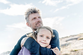 Danish father and daughter on Bornholm 4