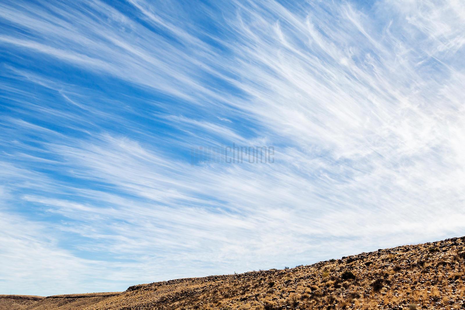 High Wind Cirrus Clouds