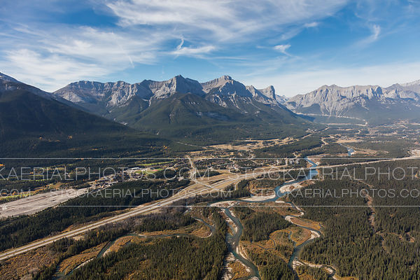 East side of Canmore