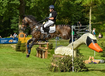 Ben Hobday and CILETTO H, Equitrek Bramham Horse Trials 2018
