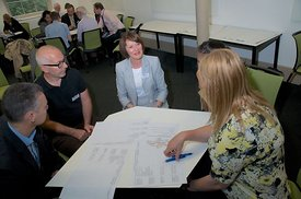 Photographs from the 2014 Collborative Conference at University of Derby, Buxton Campus.