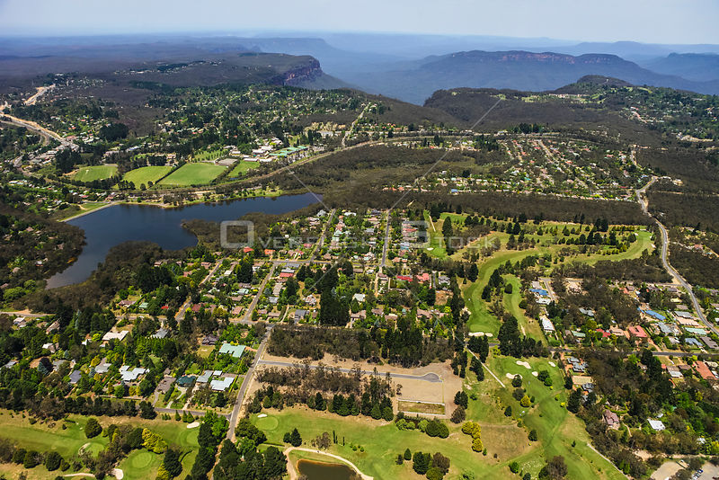 Wentworth Falls Golf Course near Katoomba in New South Wales Australia