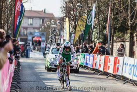 The Cylist Siskevicius Evaldas- Paris Nice 2013 Prologue in Houilles