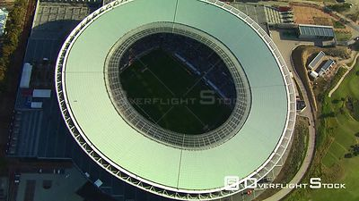 Aerial over Cape Town Stadium. Cape Town Western Cape South Africa