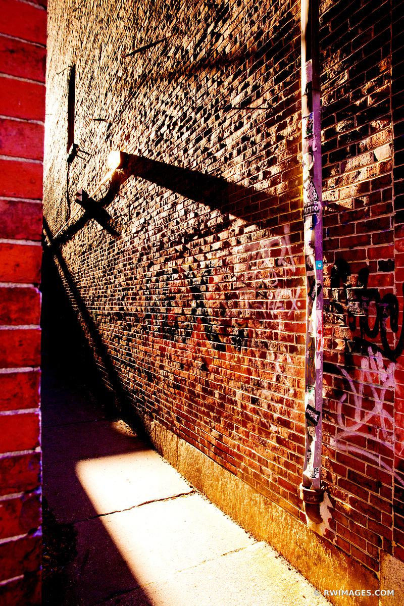 DOWNTOWN ALLEY PORTLAND MAINE