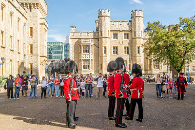 Guard Inspection- Tower of London