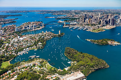 Balls Head and Sydney Harbour