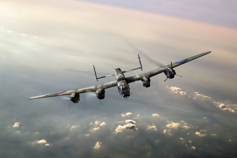 "Lone Lancaster (""The One That Got Away"")"
