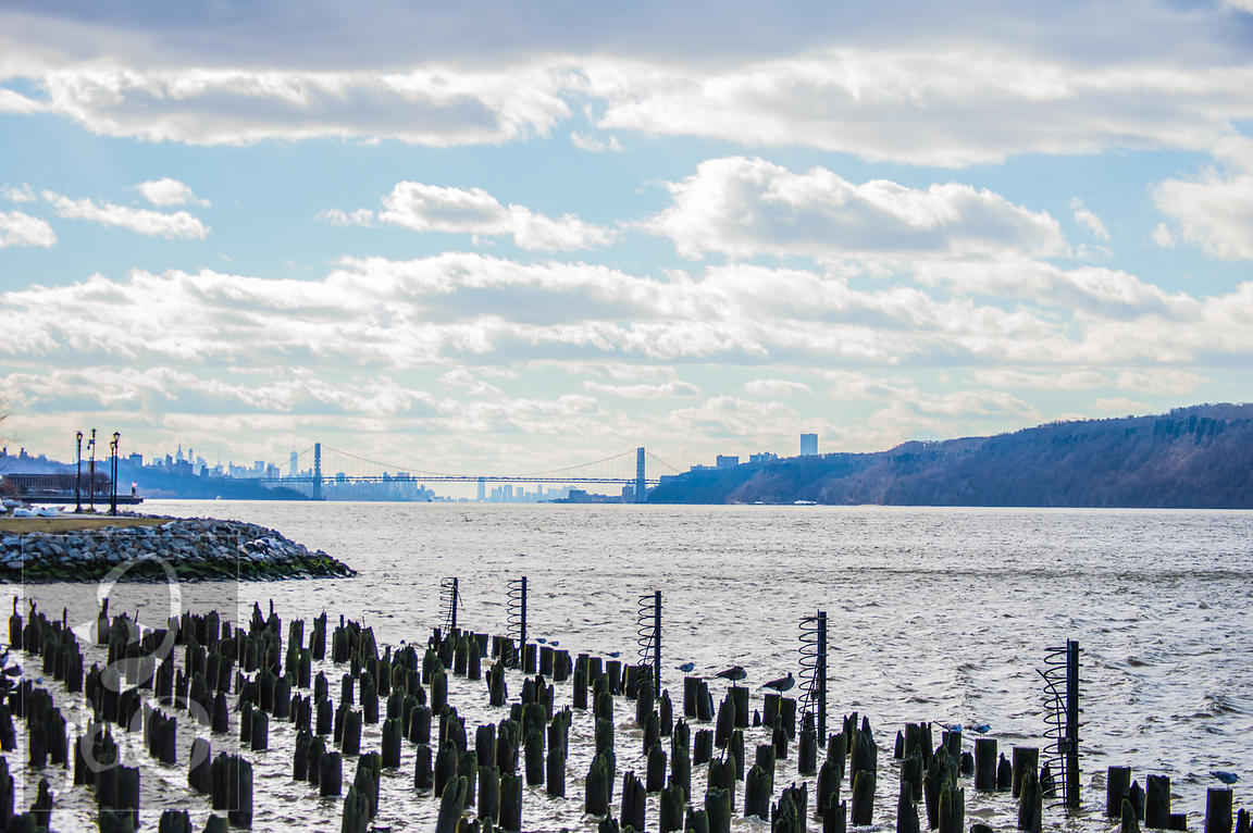 New York from the Yonkers Waterfront
