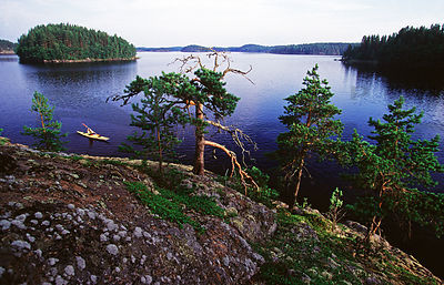 Linnansaari National Park, Savo