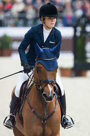 Paris, France, 17.3.2018, Sport, Reitsport, Saut Hermes - .PRIX GL Events Bild zeigt Edwina TOPS-ALEXANDER(AUS) riding Lintea...