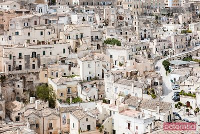 Typical cave dwellings, Sassi di Matera, Matera, Italy