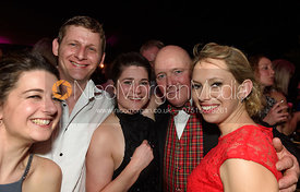 Claire Knight, James Knight, Yasmin Duncan, Phil Humphrey, Jane Burton. The Quorn Hunt Ball