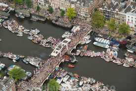 Amsterdam - Luchtfoto Canal Parade 18