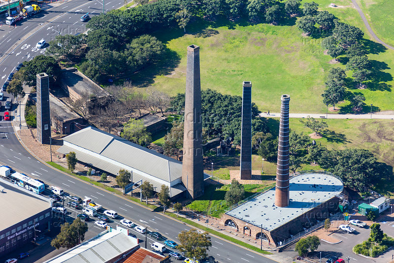 Sydney Park Chimneys