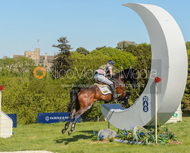 Felicity Collins and RSH CONTEND OR, Fairfax & Favor Rockingham Horse Trials 2018