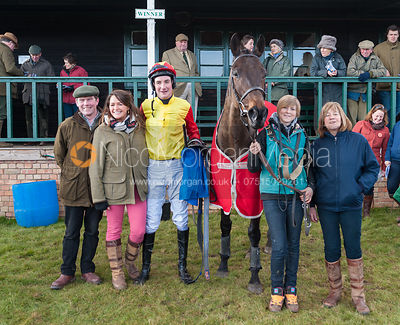 Sandpipers and his team - The Belvoir at Garthorpe 30th March 2013.
