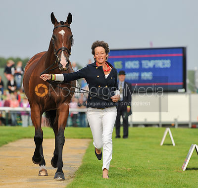 Mary King and Kings Temptress - 2nd Inspection - Burghley 2010